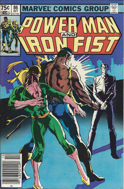 Cover for Power Man and Iron Fist (Marvel, 1981 series) #86 [Direct]