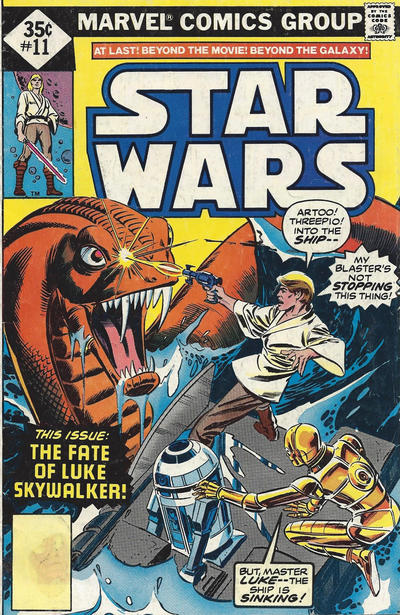 Cover for Star Wars (Marvel, 1977 series) #11 [Regular Edition]