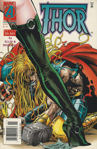 Cover for Thor (Marvel, 1966 series) #492 [Newsstand]