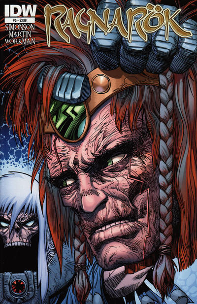 Cover for Ragnarök (IDW, 2014 series) #5