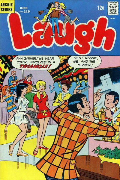 Cover for Laugh Comics (Archie, 1946 series) #219