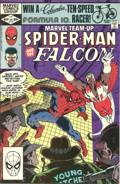 Cover for Marvel Team-Up (Marvel, 1972 series) #114 [Newsstand]