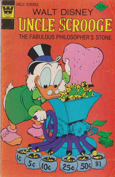 Cover for Uncle Scrooge (Western, 1963 series) #132 [Gold Key Variant]
