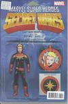 Cover for Captain Marvel & the Carol Corps (Marvel, 2015 series) #1 [John Tyler Christopher Action Figure (Captain Marvel)]