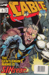 Cover Thumbnail for Cable (1993 series) #5 [Australian Newsstand Edition]