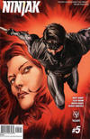 Cover for Ninjak (Valiant Entertainment, 2015 series) #5 [Cover A - Lewis LaRosa]