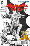 Cover for Batman: The Dark Knight (DC, 2011 series) #18 [Ethan Van Sciver Black & White Cover]