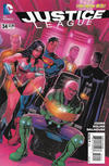 Cover for Justice League (DC, 2011 series) #34 [Rags Morales Variant Cover]