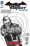 Cover for Batman: The Dark Knight (DC, 2011 series) #22 [Alex Maleev Black & White Cover]