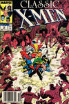 Cover for Classic X-Men (Marvel, 1986 series) #14 [Newsstand]
