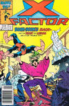 Cover for X-Factor (Marvel, 1986 series) #12 [Newsstand]