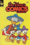 Cover for Walt Disney's Comics and Stories (Western, 1962 series) #v42#7 / 499 [Yellow Logo Variant]