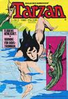Cover for Tarzan (Atlantic Förlags AB, 1977 series) #2/1980