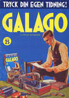 Cover for Galago (Atlantic Förlags AB; Tago, 1980 series) #25