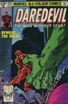 Cover for Daredevil (Marvel, 1964 series) #163 [British Price Variant]