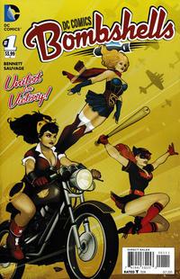 Cover Thumbnail for DC Comics: Bombshells (DC, 2015 series) #1