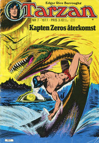 Cover Thumbnail for Tarzan (Atlantic Förlags AB, 1977 series) #7/1977