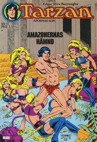 Cover Thumbnail for Tarzan (Atlantic Förlags AB, 1977 series) #10/1977