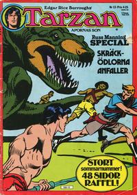 Cover Thumbnail for Tarzan (Atlantic Förlags AB, 1977 series) #13/1977