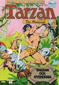 Cover Thumbnail for Tarzan (Atlantic Förlags AB, 1977 series) #20/1977
