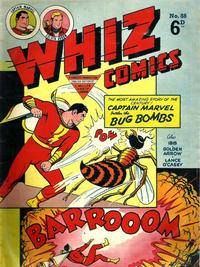 Cover Thumbnail for Whiz Comics (L. Miller & Son, 1950 series) #88