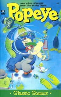 Cover Thumbnail for Classic Popeye (IDW, 2012 series) #37 [Dave Calver cover variant]