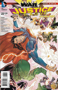 Cover Thumbnail for Justice League (DC, 2011 series) #23 [Mikel Janin / Vicente Cifuentes Cover]