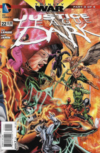 Cover Thumbnail for Justice League Dark (DC, 2011 series) #22 [Brett Booth / Norm Rapmund Cover]