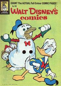 Cover Thumbnail for Walt Disney's Comics (W. G. Publications; Wogan Publications, 1946 series) #190