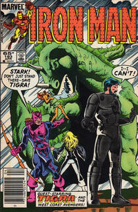 Cover Thumbnail for Iron Man (Marvel, 1968 series) #193 [Newsstand Edition]