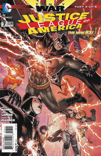 Cover Thumbnail for Justice League of America (DC, 2013 series) #7 [Mikel Janin / Vicente Cifuentes Cover]