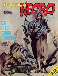 Cover Thumbnail for Dossier Negro (Ibero Mundial de ediciones, 1968 series) #57