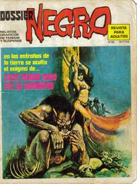 Cover Thumbnail for Dossier Negro (Ibero Mundial de ediciones, 1968 series) #60