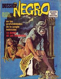 Cover Thumbnail for Dossier Negro (Ibero Mundial de ediciones, 1968 series) #64
