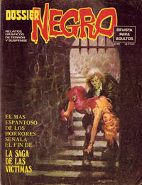 Cover Thumbnail for Dossier Negro (Ibero Mundial de ediciones, 1968 series) #80