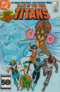 Cover Thumbnail for Tales of the Teen Titans (DC, 1984 series) #60 [Direct Sales]