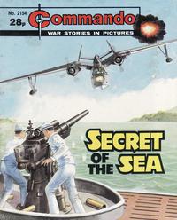 Cover Thumbnail for Commando (D.C. Thomson, 1961 series) #2154