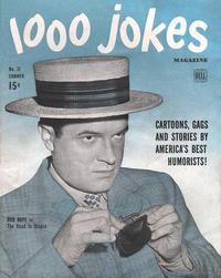Cover Thumbnail for 1000 Jokes (Dell, 1939 series) #31