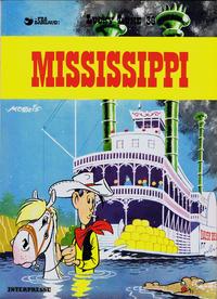 Cover Thumbnail for Lucky Luke (Interpresse, 1971 series) #36 - Mississippi