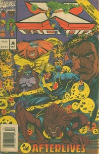 Cover for X-Factor (Marvel, 1986 series) #101 [Direct Edition]