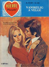 Cover Thumbnail for Hjerterevyen (Serieforlaget / Se-Bladene / Stabenfeldt, 1960 series) #35/1977