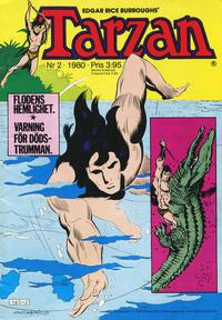 Cover Thumbnail for Tarzan (Atlantic Förlags AB, 1977 series) #2/1980