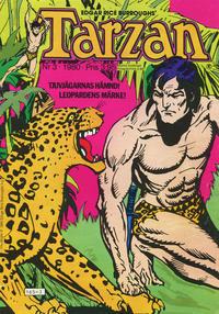 Cover Thumbnail for Tarzan (Atlantic Förlags AB, 1977 series) #3/1980