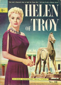 Cover Thumbnail for A Movie Classic (World Distributors, 1956 ? series) #20 - Helen of Troy