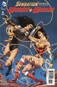 Cover Thumbnail for Sensation Comics Featuring Wonder Woman (DC, 2014 series) #13