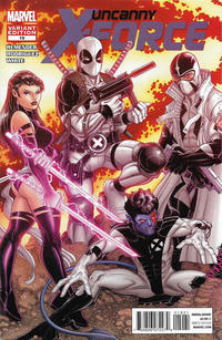 Cover Thumbnail for Uncanny X-Force (Marvel, 2010 series) #19 [Nick Bradshaw Variant]