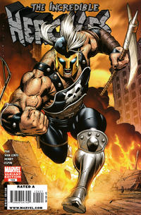 Cover Thumbnail for Incredible Hercules (Marvel, 2008 series) #124 [McGuinness Variant]
