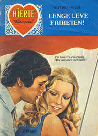 Cover Thumbnail for Hjerterevyen (Serieforlaget / Se-Bladene / Stabenfeldt, 1960 series) #27/1977