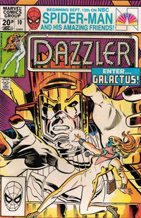 Cover Thumbnail for Dazzler (Marvel, 1981 series) #10 [British]