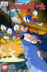 Cover Thumbnail for Donald Duck (IDW, 2015 series) #4 / 371 [Regular Cover]